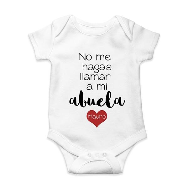 0cfc1f441 Bodie de bebé personalizado - Regalos personalizados bebé