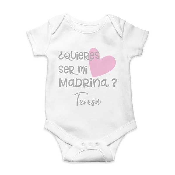 58d28c7bf Body bebé personalizado quieres ser - En vez de Flores